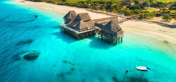 Zanzibaras (7 naktys) - Kiwengwa Beach Resort 4* viešbutyje su viskas įskaičiuota maitinimu