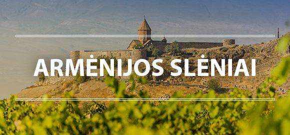 Armėnija (4n.) - atokūs vienuolynai, kalnuoti regionai ir viena seniausių virtuvių
