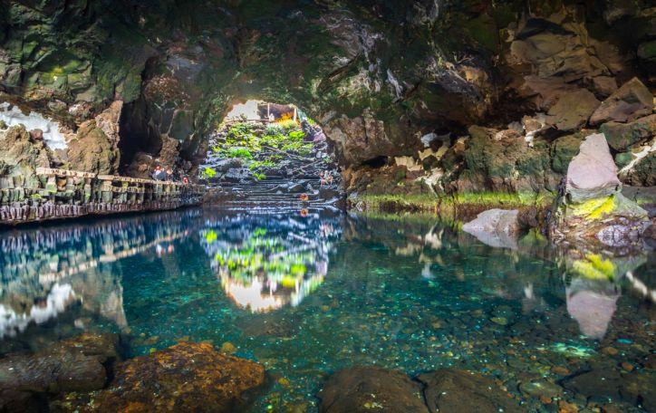 Lanzarotė - vulkanais ir lavos upėmis pasipuošęs pirmykštis mūsų planetos atspindys