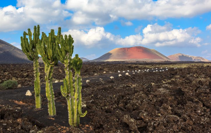 Lansarotė - vulkanais ir lavos upėmis pasipuošęs pirmykštis mūsų planetos atspindys