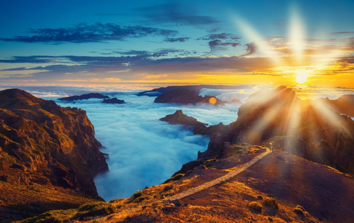 IŠPARDUOTA! Madeira - šilkinė žiedlapių jūra, vingiuojančios levados ir Atlanto vandenyno šėlsmas