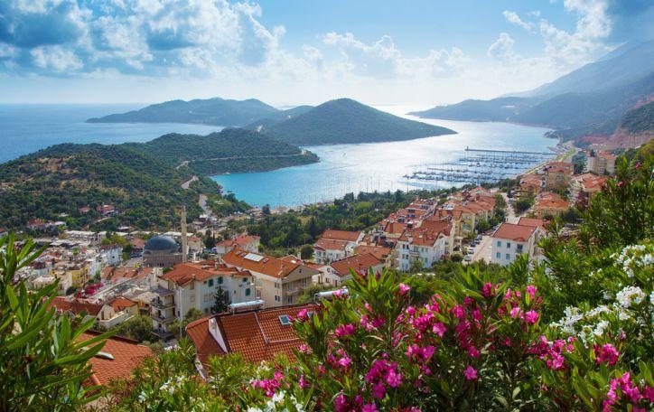 Turkija - karšta saulė giedrame danguje - balta šypsena Jūsų veide