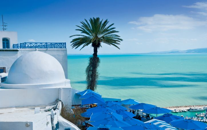 Tunisas - dykumų rožėmis išpuošta marga kultūrų mozaika