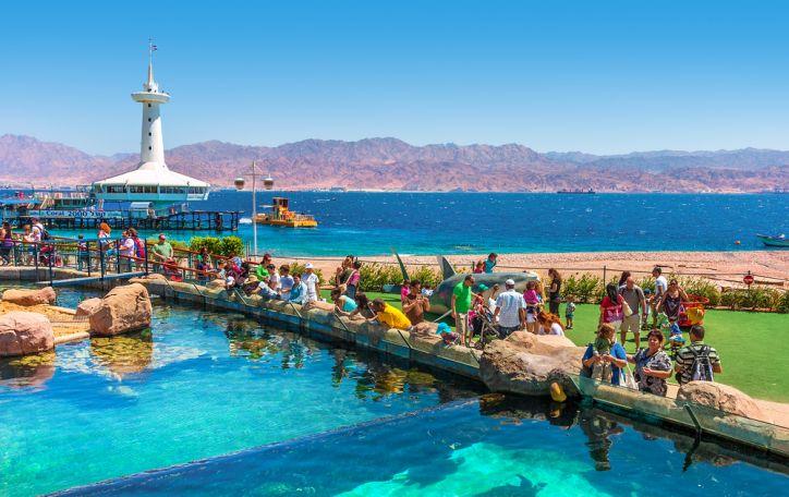Eilatas (Izraelis) - šiluma glostančios atostogos Raudonosios jūros glėbyje