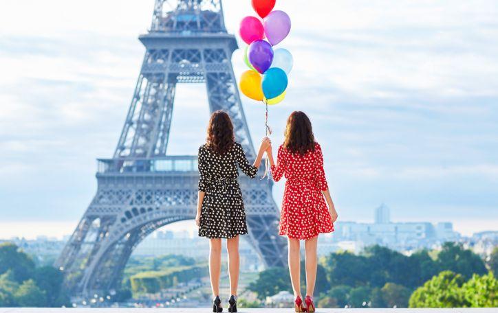 Sutikite 2018 metus Paryžiuje - Naujieji metai elegantiškos romantikos fone