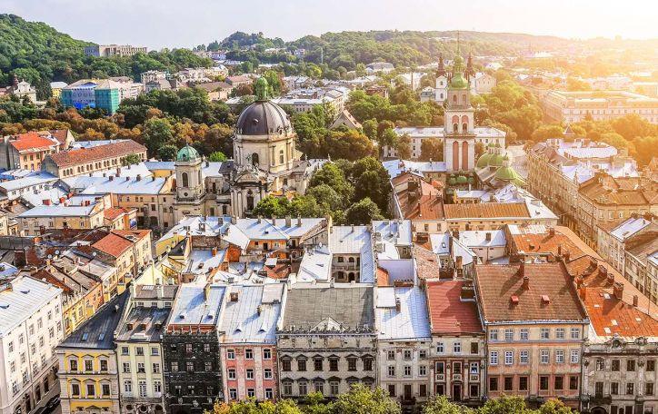 Pažintinė kelionė autobusu į Ukrainą: Kijevas, Lvovas ir nuostabios pilys