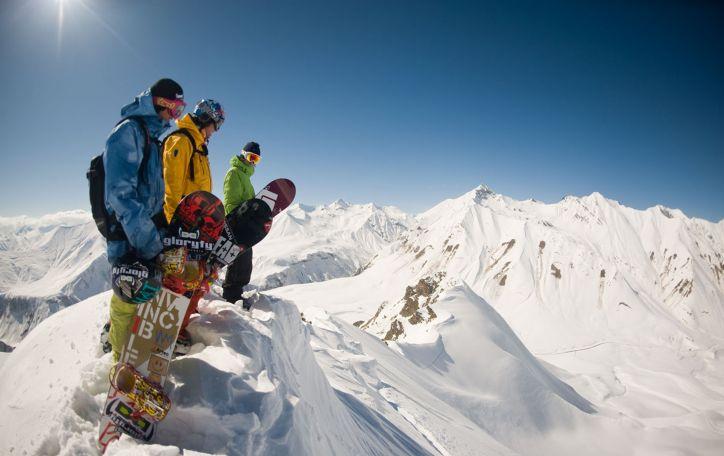 Slidinėjimas Gruzijoje (Gudauryje) - slidinėkite ir mėgaukitės gruziniška dvasia