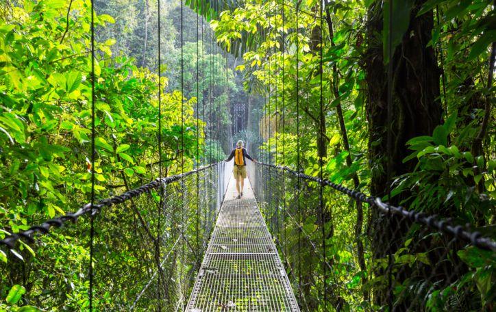 Kosta Rika - žalias ir čiulbantis pasaulis, dovanojantis ramybę ir nuotykius